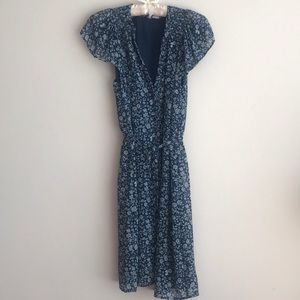 Button down casual dress
